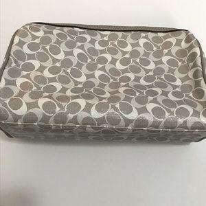 Coach signature print Cosmetic Case